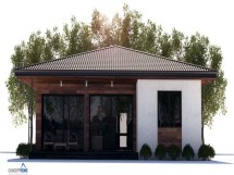 Affordable Small Modern House Plan