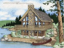 Small Vacation Homes House Plans With Loft