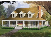 Country Style House Plans Homes Small