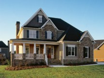 2 Story Country House Plans with Porch