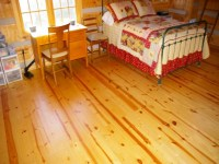 Log Cabin Pine Wood Floor Small Pine Logs, log cabin