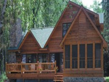 Log Cabin Lake Home Plans