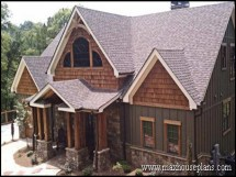 Craftsman Style Lake House Plans