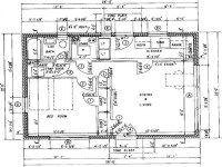 Architectural Floor Plans with Dimensions Architectural ...
