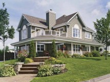 Country Home House Plans With Porches Wrap