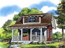 Lake Cottage House Plans