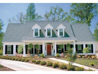 Southern House Plans with Wrap around Porch Southern House ...