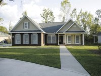 One Story Ranch House Plans with Porches Western Ranch ...