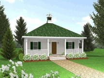 Small Country Cottage House Plans with Porches