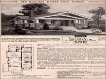 Sears Craftsman Home Plans Catalog House