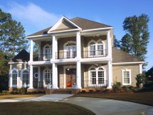 Southern Colonial Style House Plans