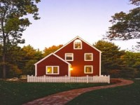 Small Country Farmhouse with Wrap around Porch Hip Roof ...