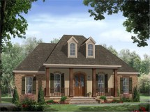 French Acadian Style House Plans