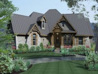French Craftsman House Plans Modern Craftsman House Plans ...