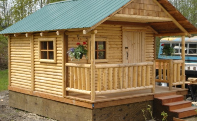 Mini Cabins And Houses Small Cabin Plans Cabins You Can