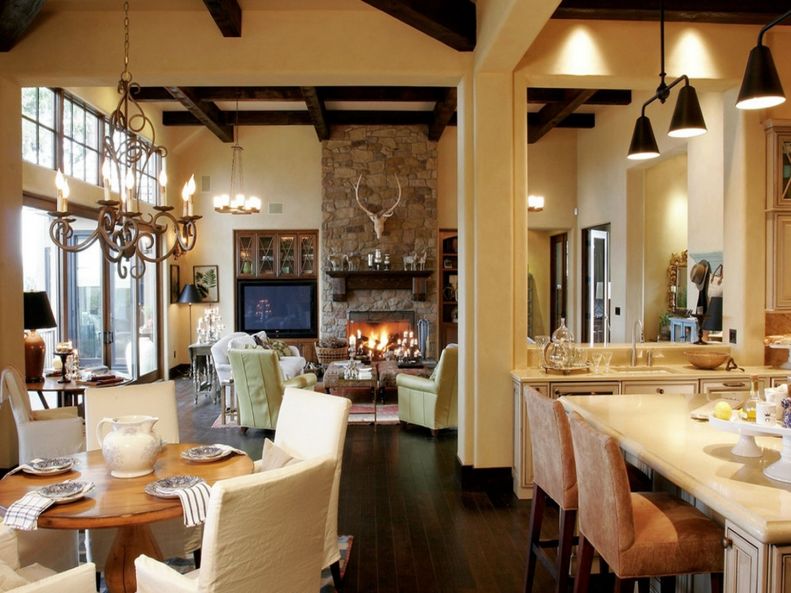 kitchen design layout ideas corner booth open concept living room lifted with ...