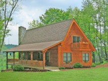 Rustic House Plan with Wrap around Porch