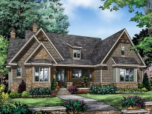 Vintage Craftsman House Plans Small