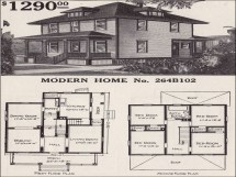 Sears Foursquare House Plans 1900