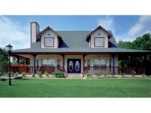 Country House Plans With Open Floor Plan