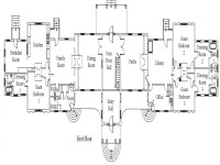 Plantation Mansion Floor Plans Louisiana Belle Grove
