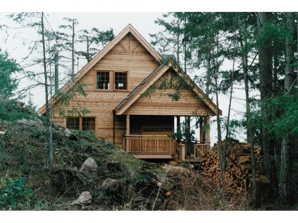 Small Rustic Lake Cabin Plans