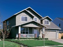 Two-Story Craftsman Style House Plans
