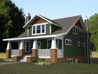 2 Story Craftsman Bungalow House Plans 2 Story Craftsman ...
