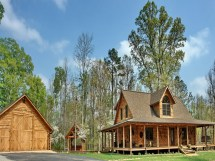 Log Home Rustic Country House Plans