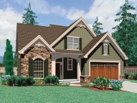 Craftsman House Plans with Front Garage Best Craftsman ...