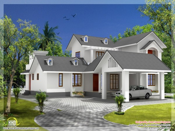 Gable Roof House Design Open 7