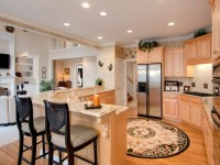 Open-Concept Kitchen Plans Small Open Concept Floor Plans ...