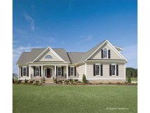 Country House Plans One Story Homes