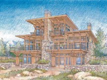 Waterfront Luxury Home Plans