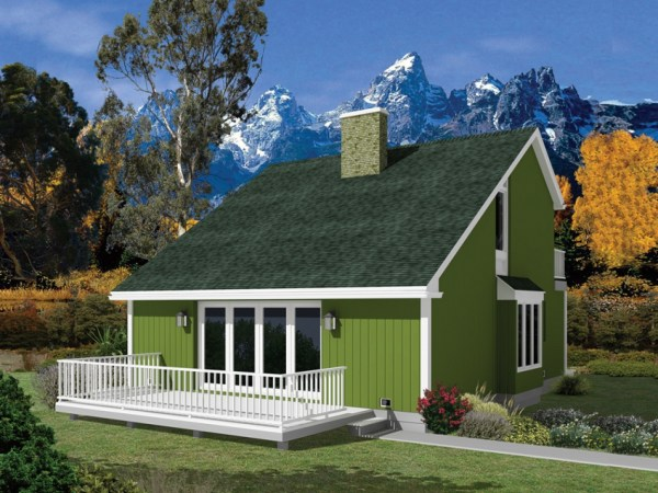 Small Cape House Plans Saltbox