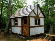 Small Cabins Tiny Timber Frame Cabin Plans