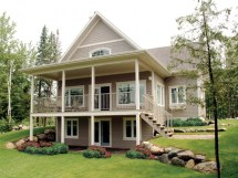 Small House Plans Waterfront With