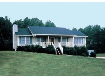 Ranch House Plans with Front Porch