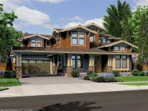 Northwest Lodge Style House Plans Pacific