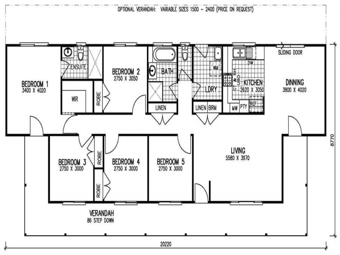 5 Bedroom Mobile Home