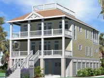 Cottage House Plans with Roof Decks