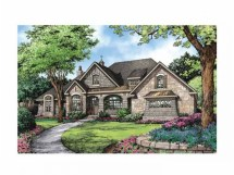 French Country Ranch House Plans
