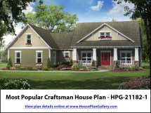 Best Craftsman House Plans