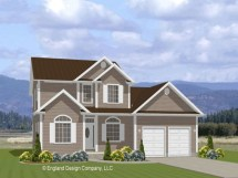 Inexpensive Two-Story House Plans