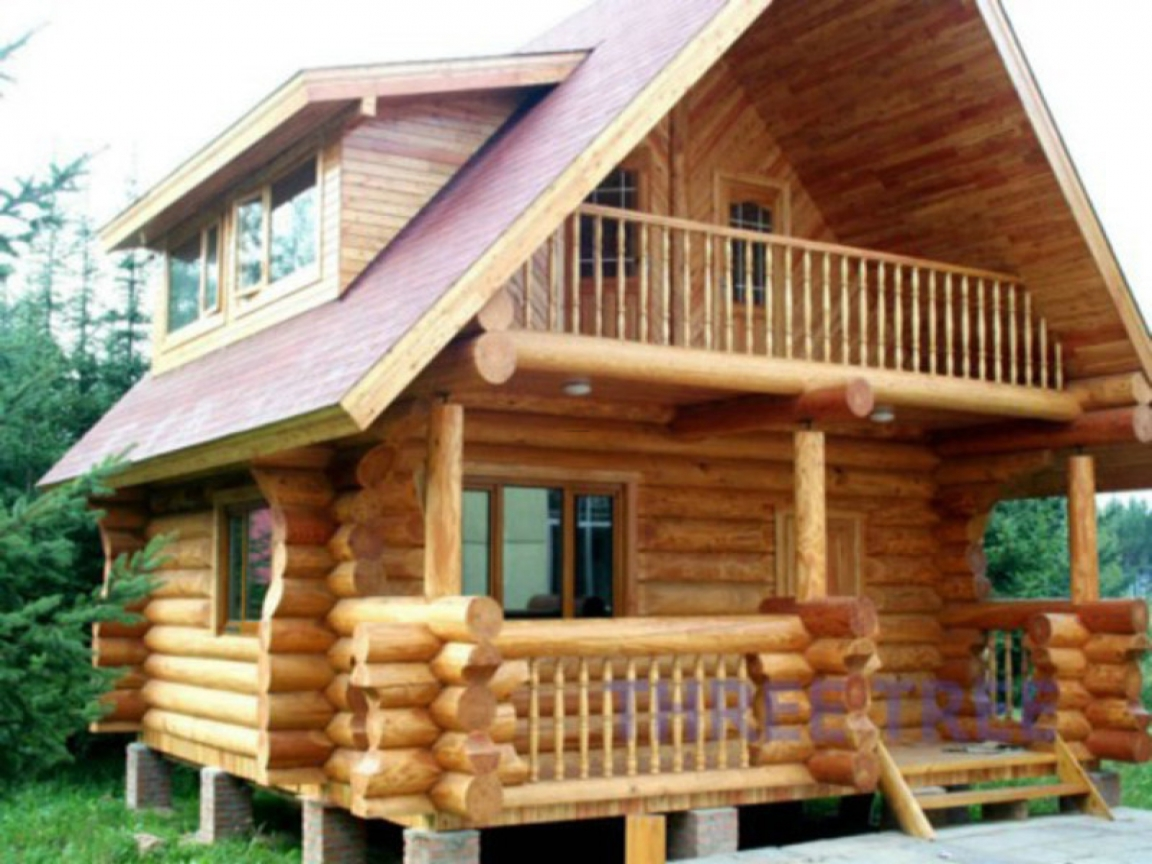 Build Small Wood House Limestone House Build Building