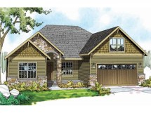 Craftsman Style Roof House Plans