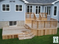 Exterior Stairs with Landing Deck Stairs with Landing ...