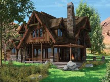 Bavarian Chalet Style Homes Log Home Plans