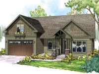 Craftsman Style Ranch Home Floor Plans Spanish Ranch Style ...