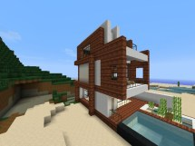 Small Minecraft Houses Awesome Modern